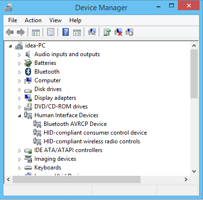 LENOVO BT INTERFACE DEVICE (HID) DRIVER FOR PC