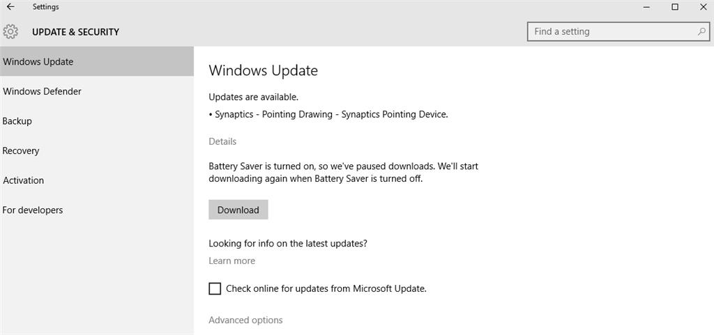 Synaptics Wbdi Driver Windows 10 Lenovo