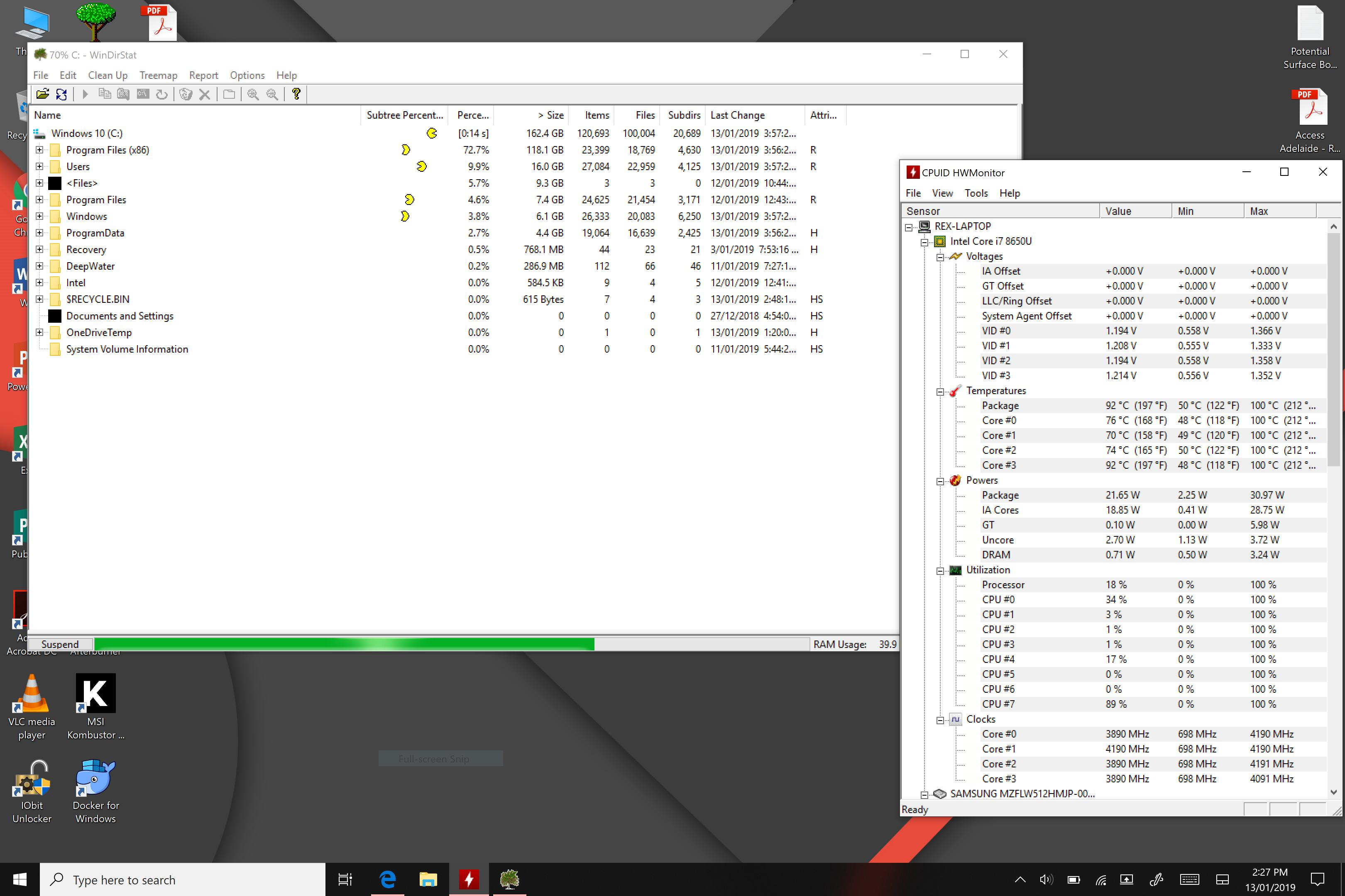 High Surface Book 2 Temperature - Microsoft Community