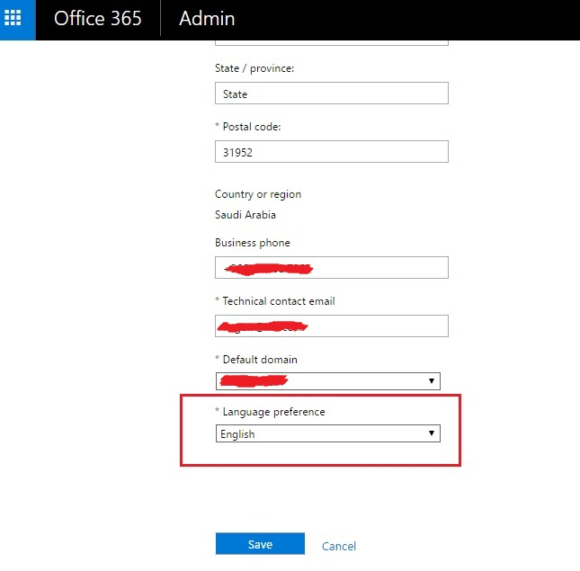 How to change the default language on SharePoint - Microsoft