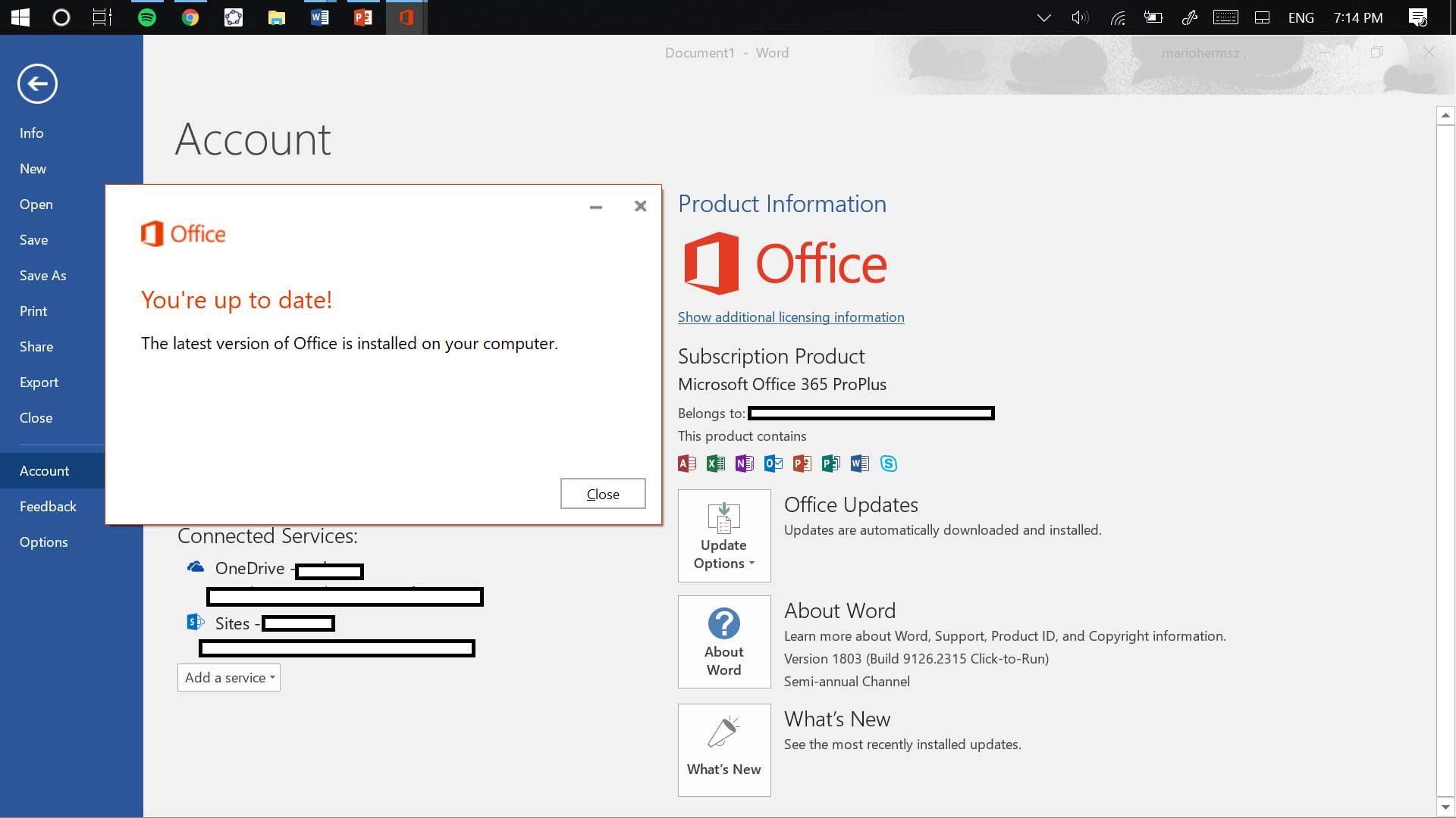 Microsoft Office Upgrade >> I Can T Update My Office 2016 App To Office 2019 But I M