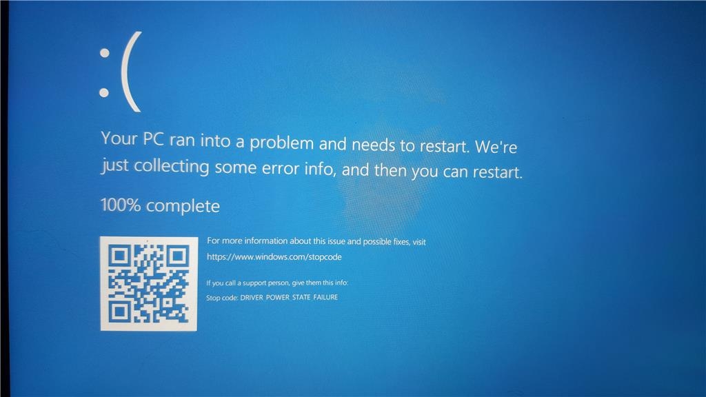 How to fix driver power state failure in windows 8. 1 youtube.