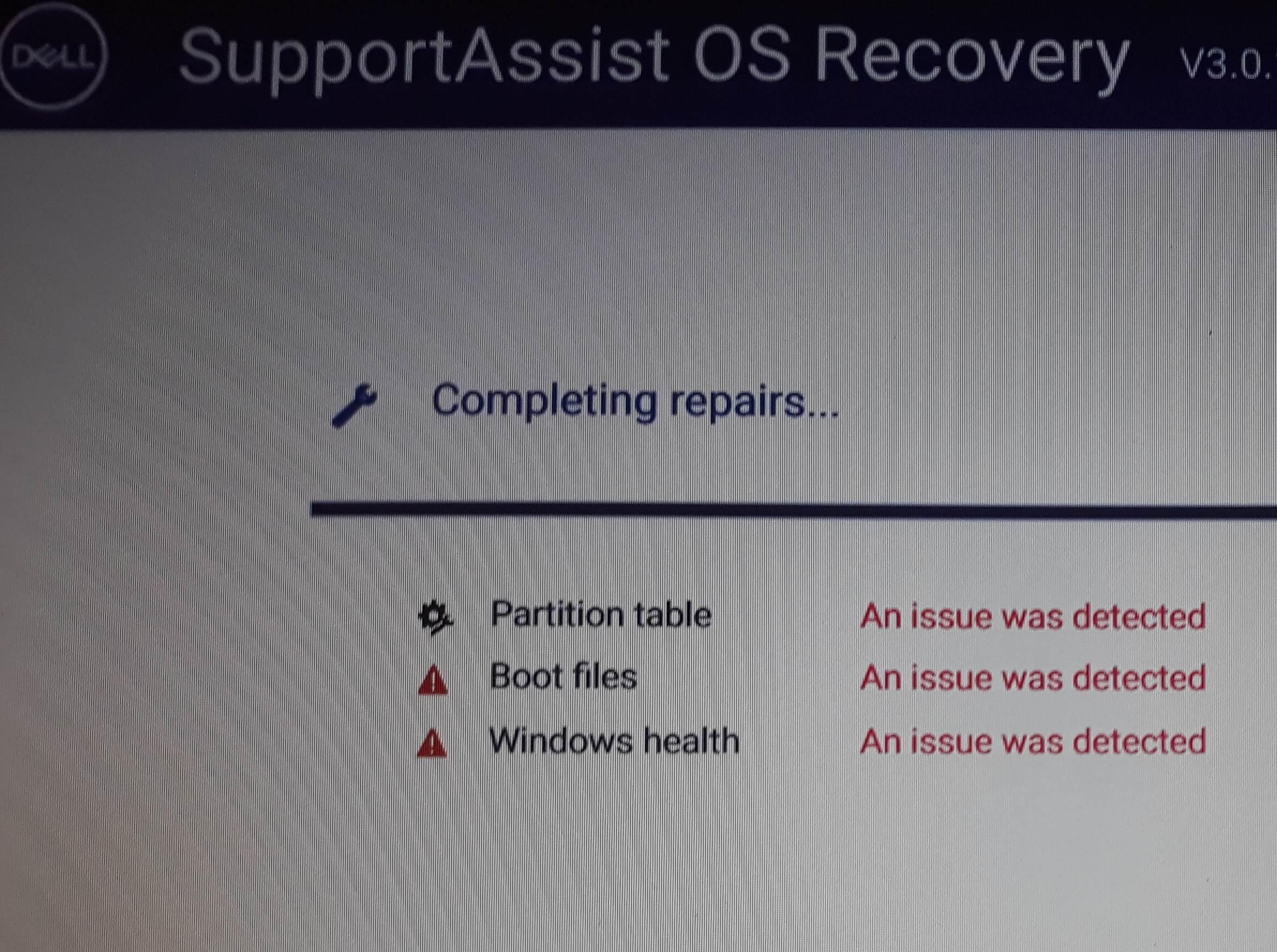 error code: 0xc000000e & bootrec /fixboot, Access is - Microsoft