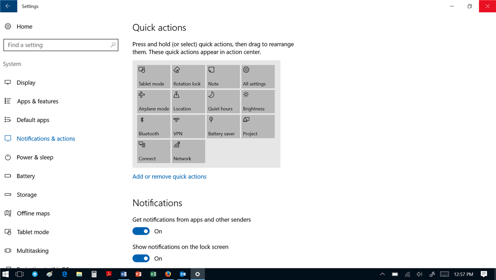 Windows 10 Task Tray (bottom right) Moving Around