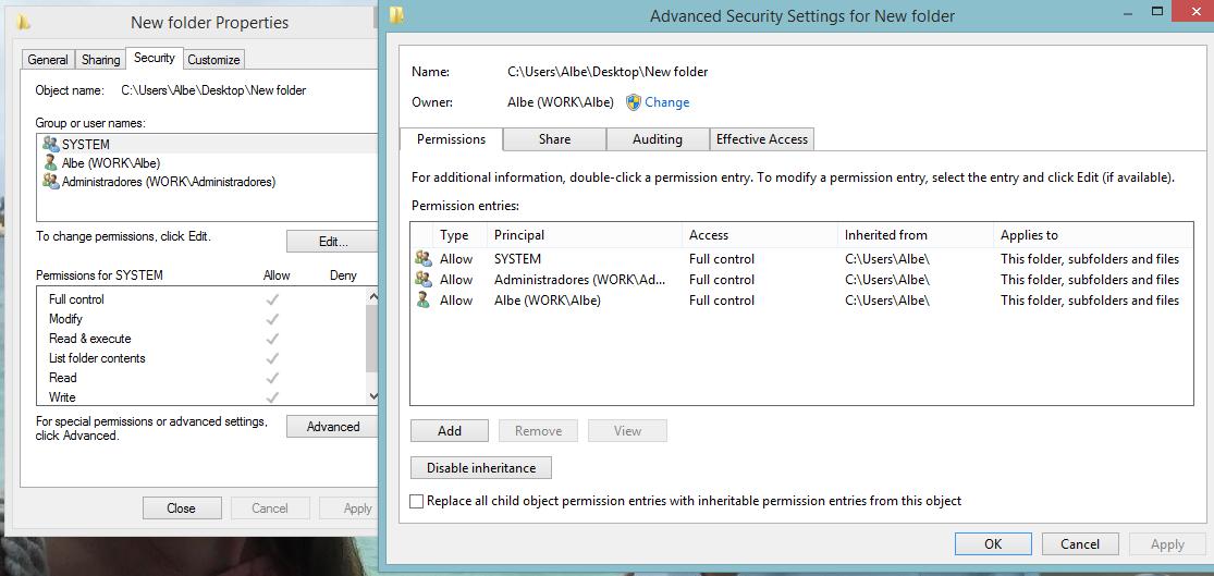 i cannot write to my shared folder win 10 - Windows Overflow
