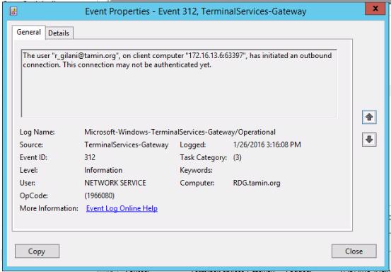remote desktop getway - Microsoft Community