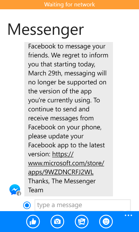 I can't send message in messenger - Microsoft Community