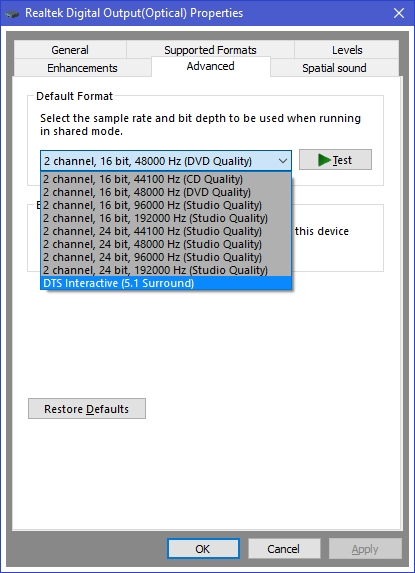 Dts sound drivers | Download Toshiba Satellite C55T  2019-02-20