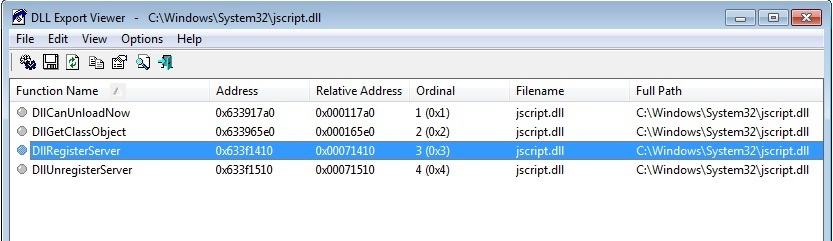 Mshtml dll was loaded, but the DllRegisterServer entry point was not