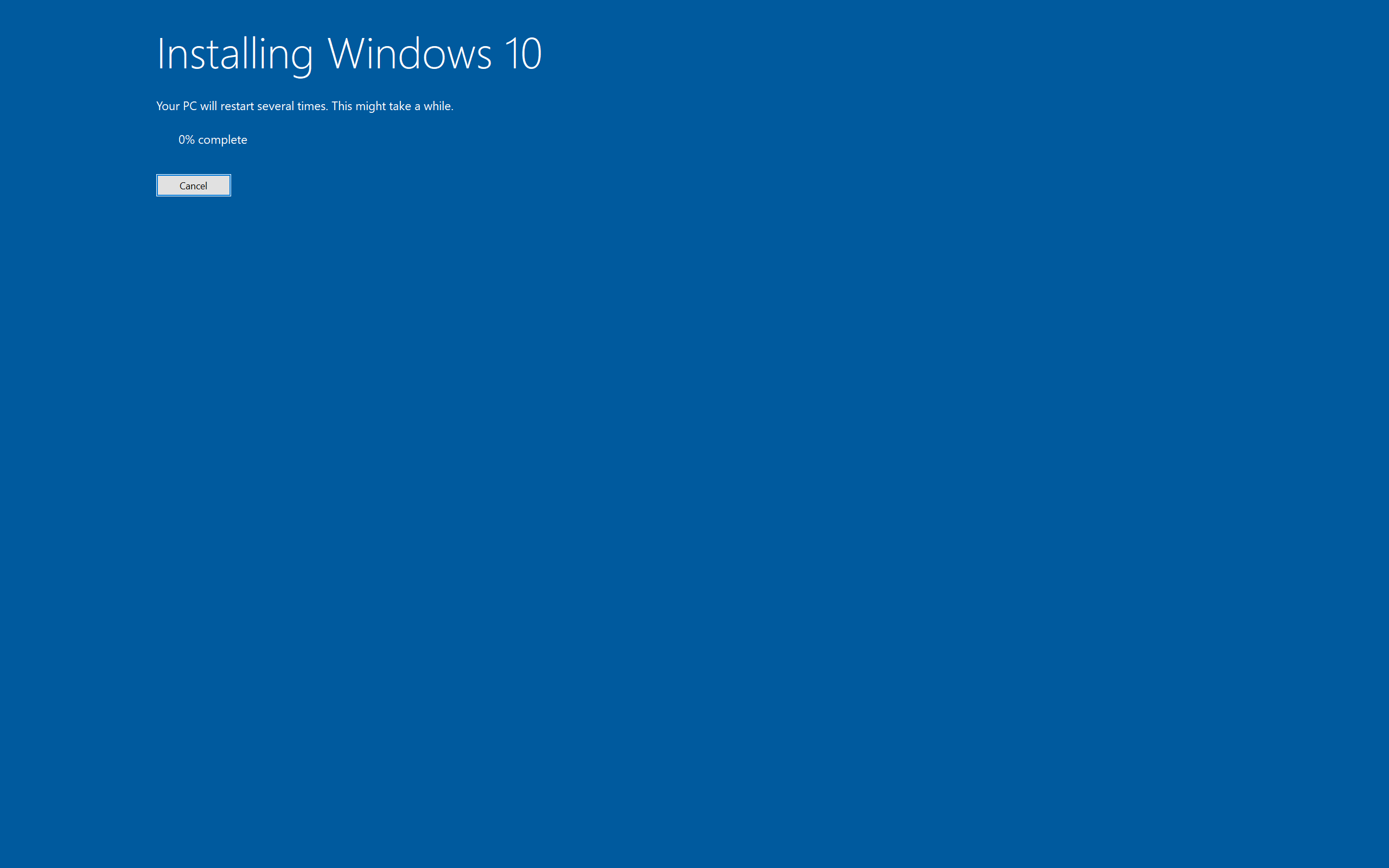 How to Upgrade to Windows 10 version 2004 using ISO