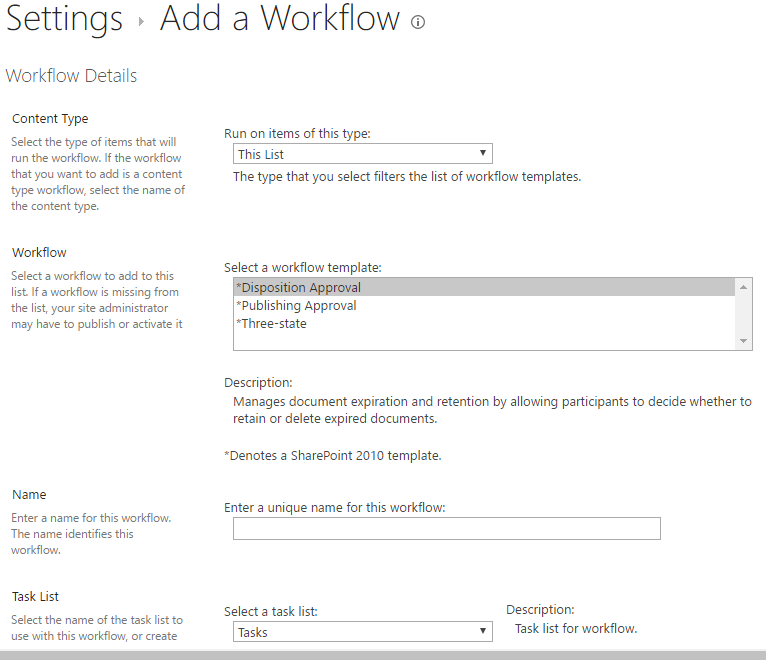Missing Workflows in Sharepoint. - Microsoft Community