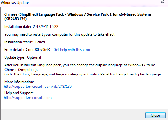 Windows 7 Ultimate language pack issue--can not change system ...