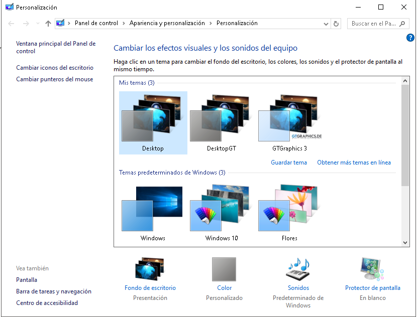 temas en windows 10 microsoft community