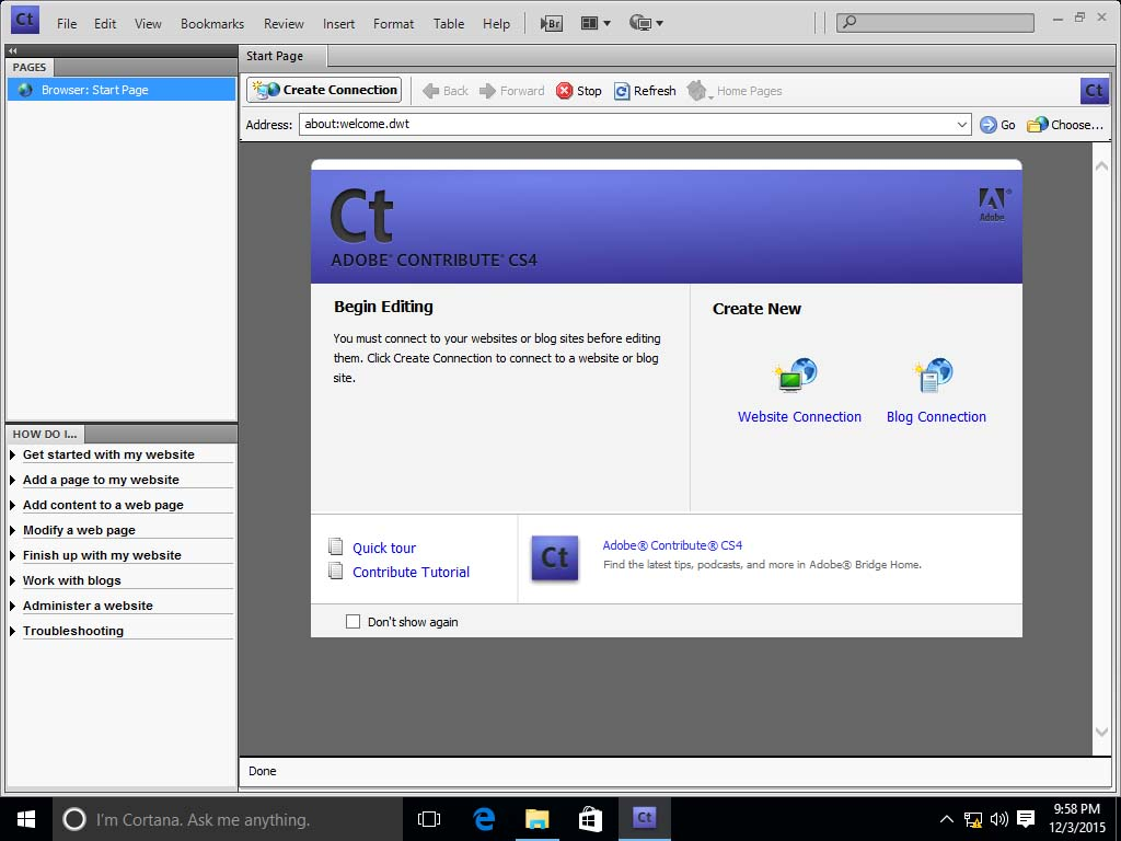 A look at running older versions of Adobe Creative Suite on