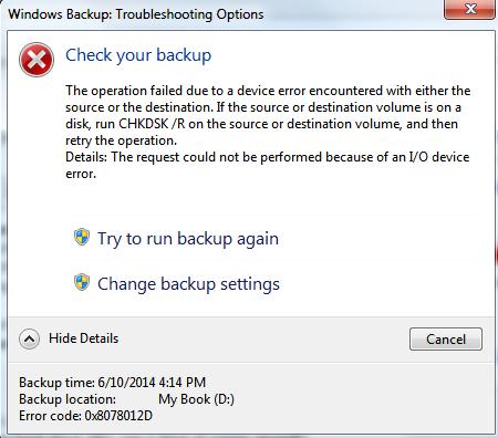 microsoft windows 7 backup software