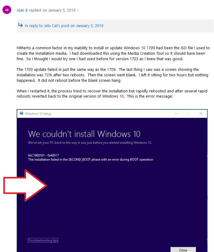 clean windows 10 install hangs on initial splash screen