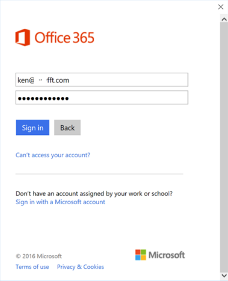 OneDrive for Business won't let me sign in - Microsoft Cmunity