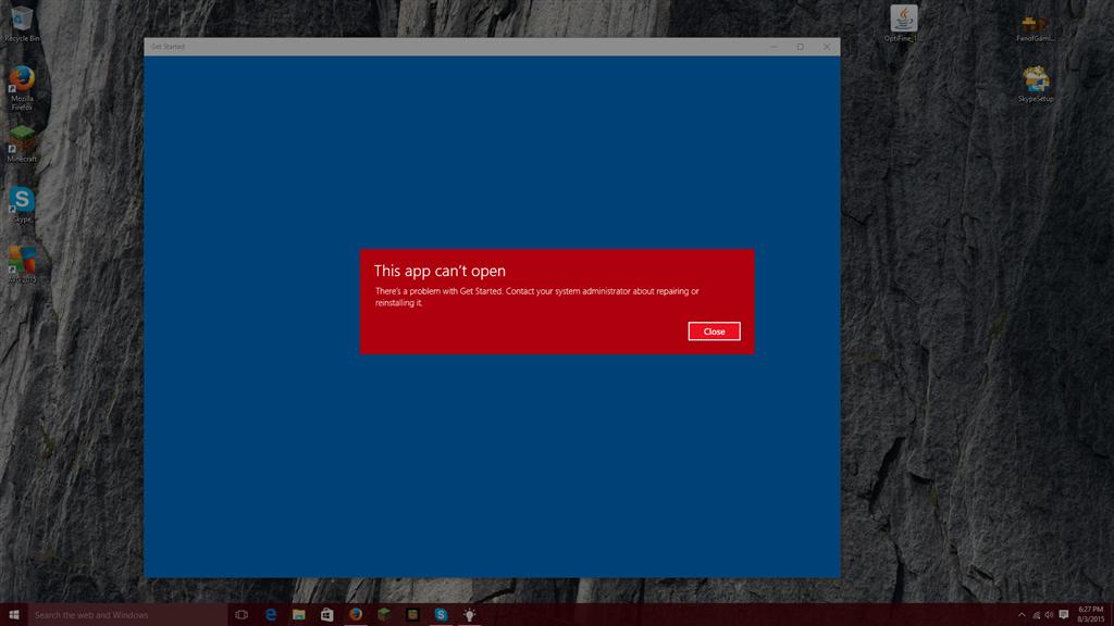 Apps Can\u0027t Open- Windows 10 - Microsoft Community