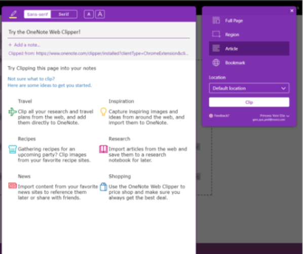 Install One Note Clipper on newest Ipad - Microsoft Community