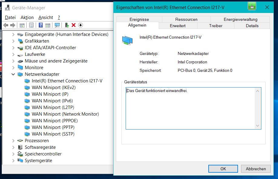 Bei Neustart heute einige Treiber nicht geladen - Windows 10 Pro 64 Bit, 1709 (16299.334)