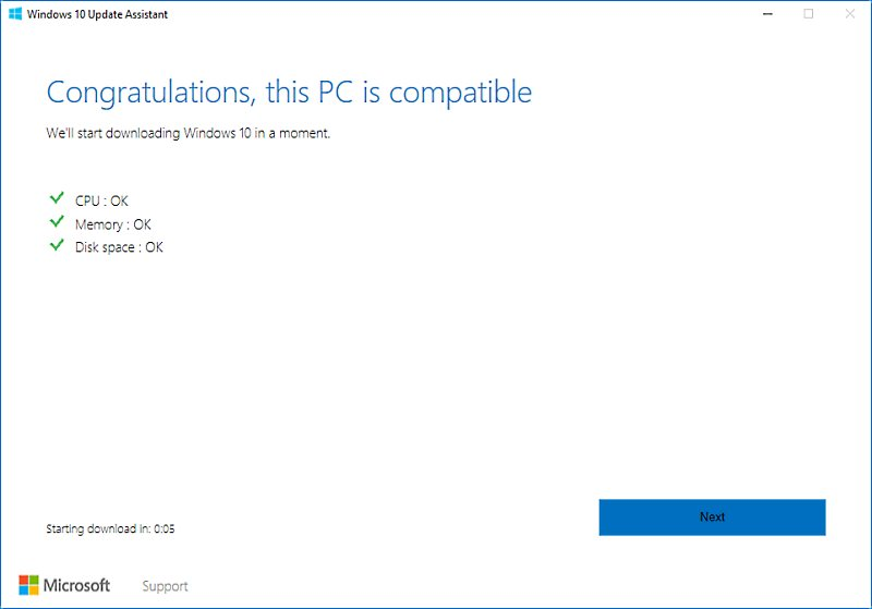 Windows 10 - Fall Creators Update - How to get it now