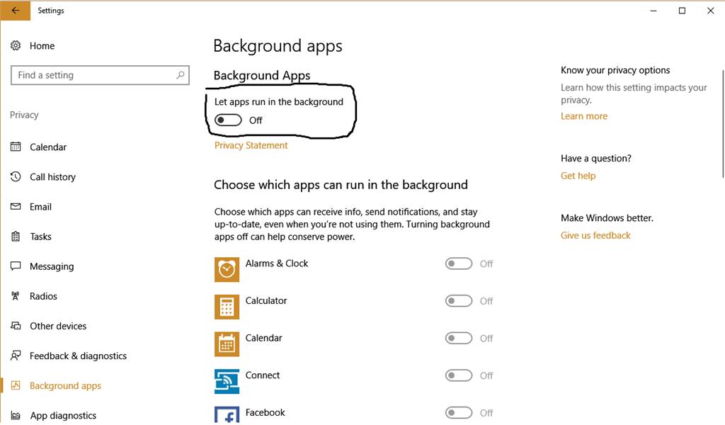 Windows 10 stock programs causing high GPU usage (also the