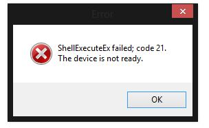 shellexecuteex 8235