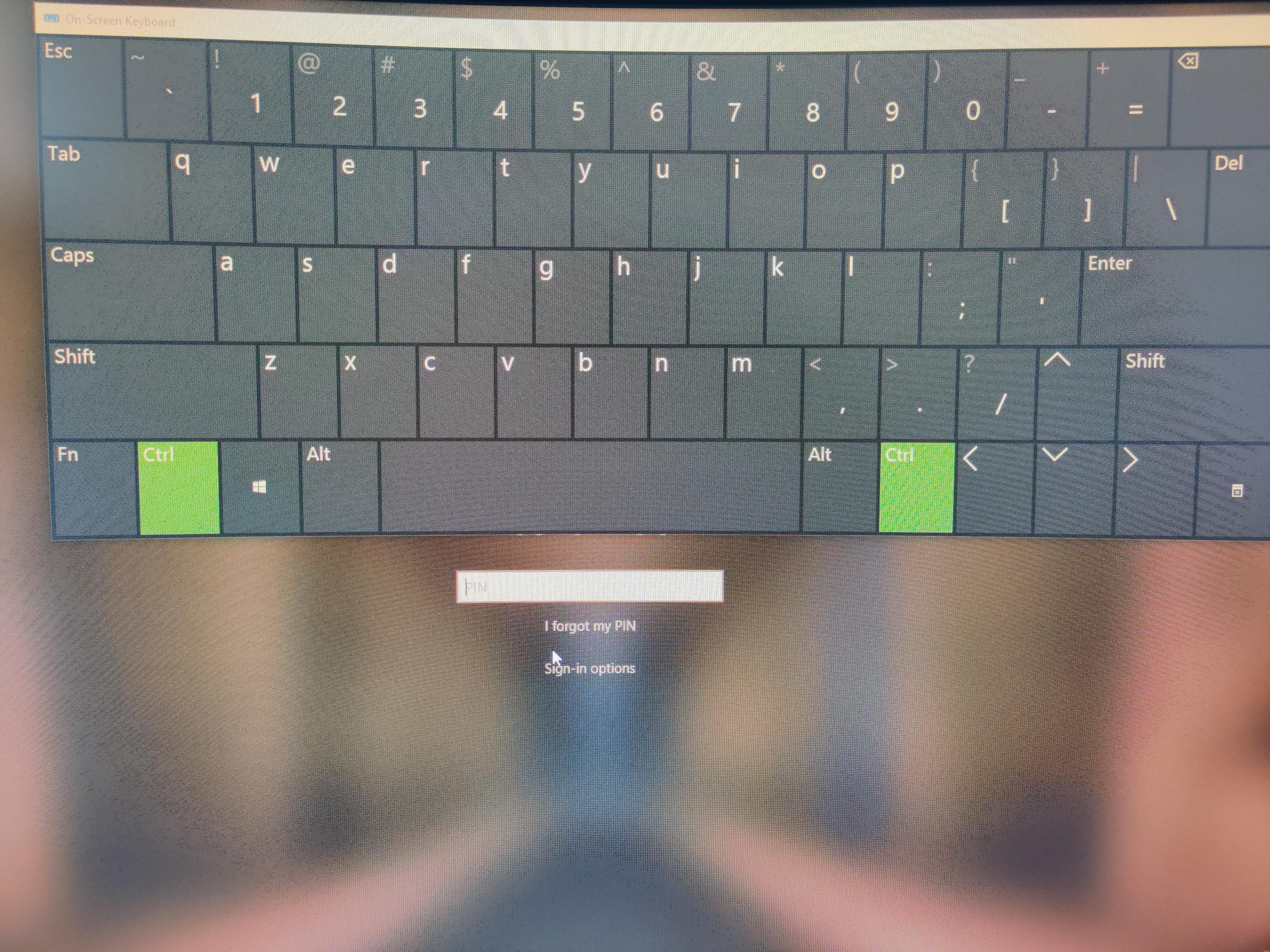 Ctrl key keeps being pressed - Microsoft Community