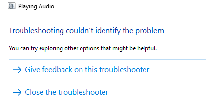 No Audio After Power Outage - Microsoft Community