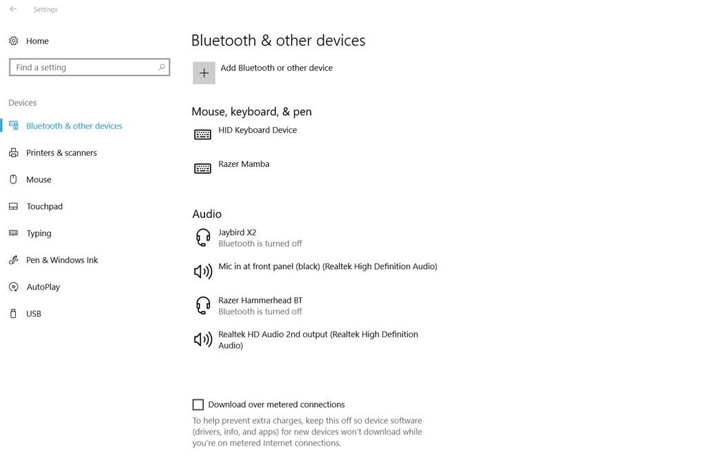 Bluetooth broken after Fall Creators Update (Razer Blade 2016