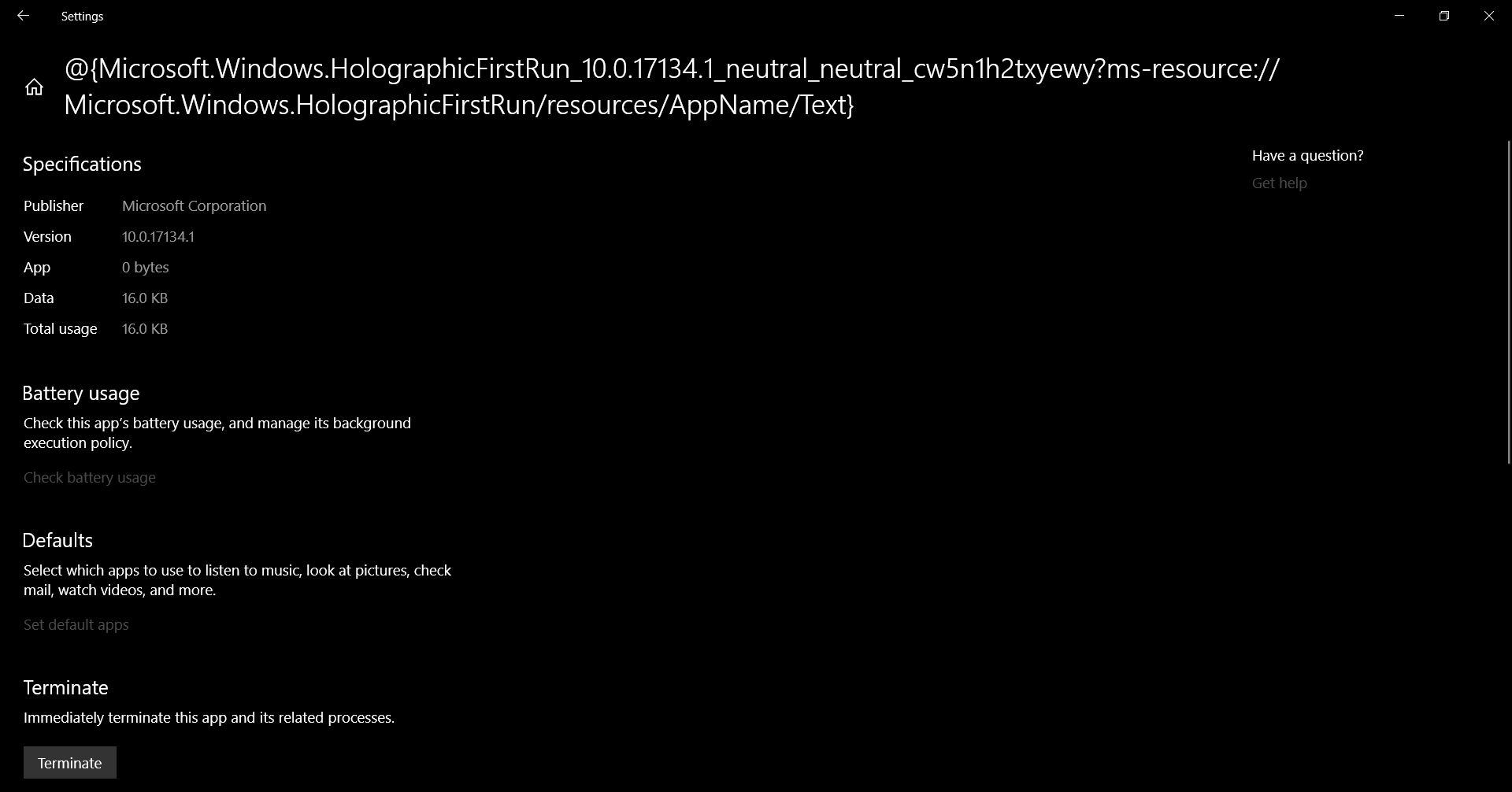 1809 Menu i have an unkonwn shortcut at my start menu - microsoft