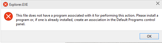 Cannot open OneDrive Explorer Folder - Microsoft Community