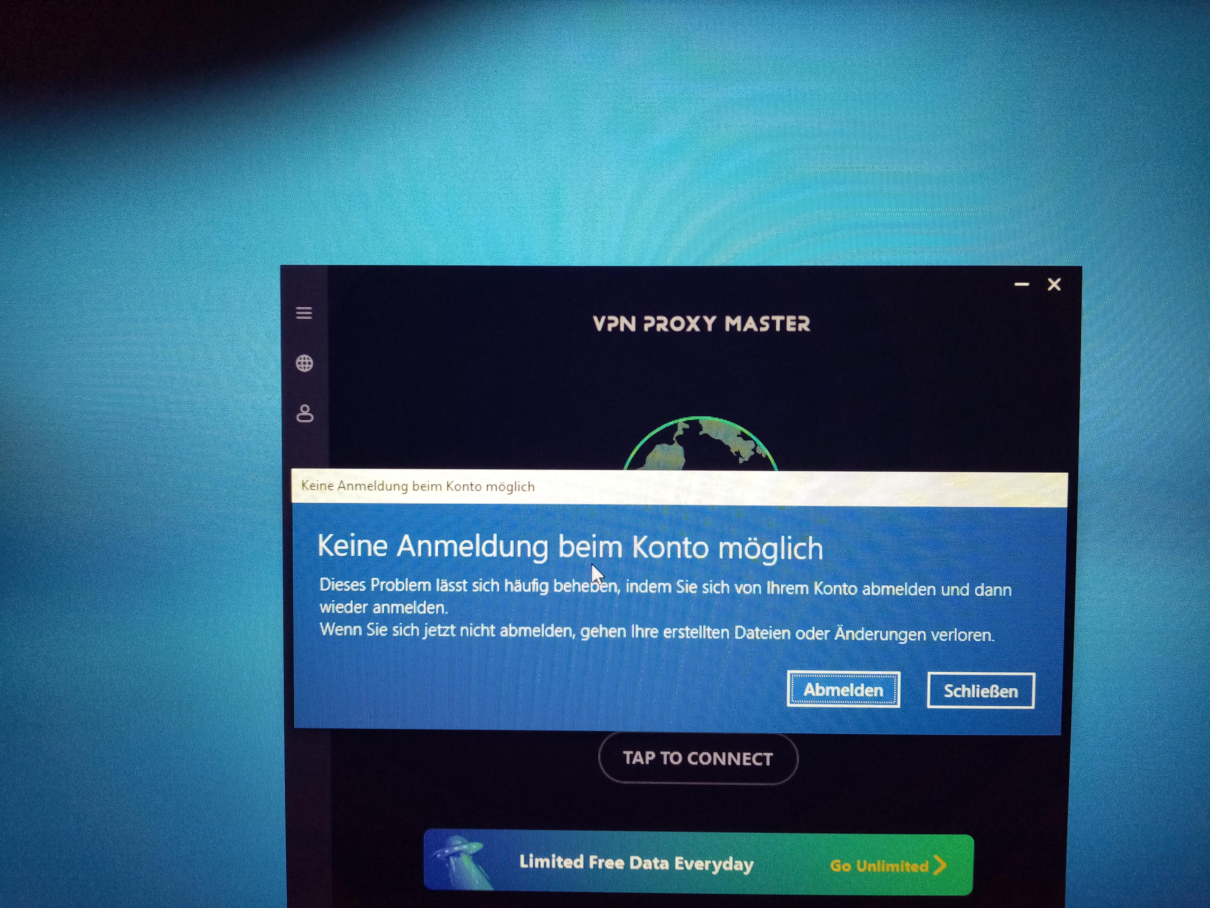 Probleme mit Windows 10 Anmeldung
