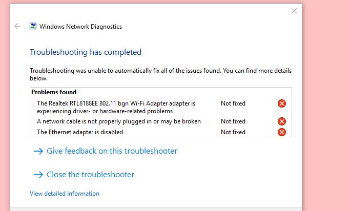 Wifi not working  - Microsoft Community