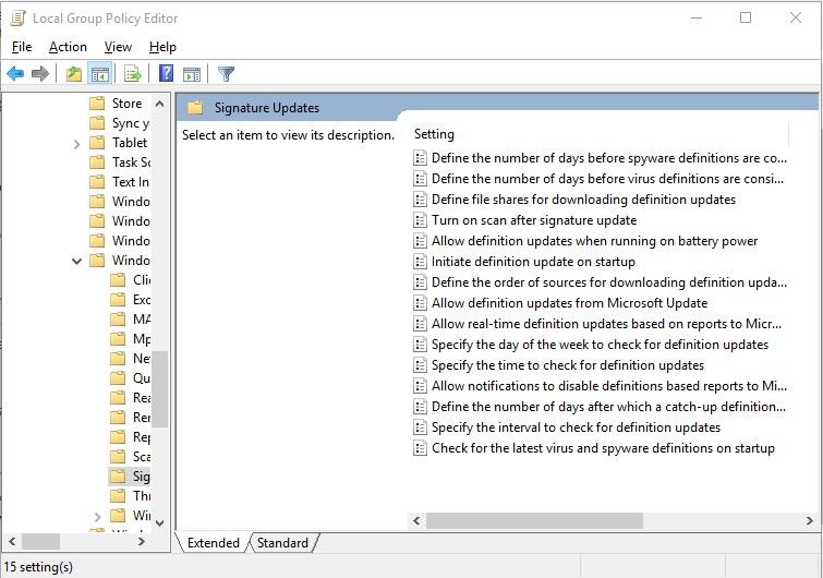 Permanently disabling Windows defender - Microsoft Community