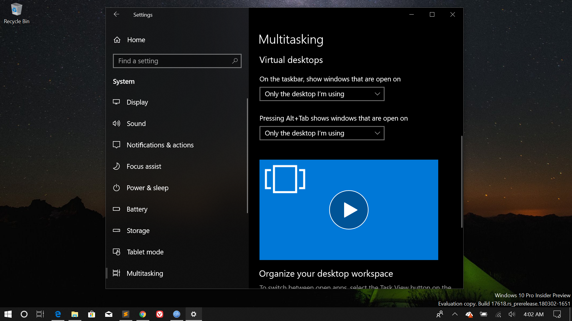 No sets feature for me in Windows 10 build 17618 - Microsoft Community