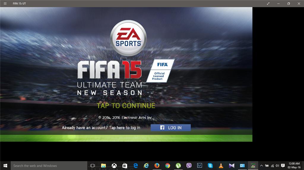 Fifa 15 UT screen resolution problem windows 10 - Microsoft