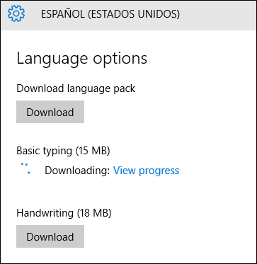 Unable to download the Korean language pack for Windows 10