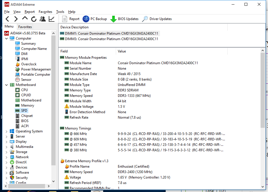 Memory Clock Speed incorrect in Windows 10 - Microsoft Community