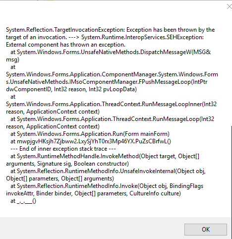 I Also Attach A Copy Of My Error For You Thanks For Your Help
