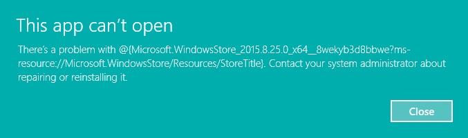 windows 8 critical error start menu