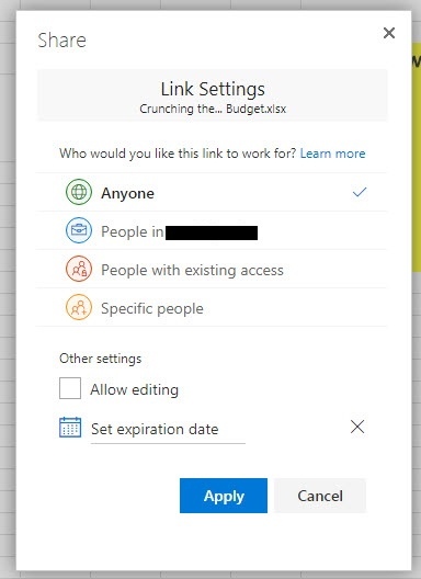 Why is my shared Excel Online file in Office 365 still editable when