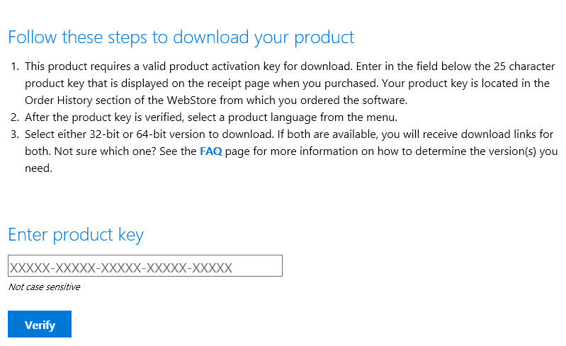 microsoft windows 10 download with product key