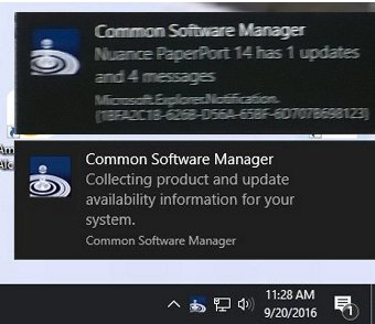 Help stop these slide-out pop-ups that happens with each Windows