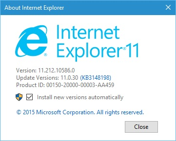 Microsoft internet explorer 11. 0. 11 download techspot.