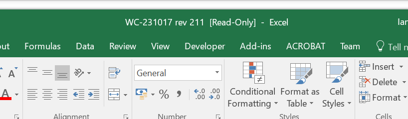 how to protect an excel workbook read only