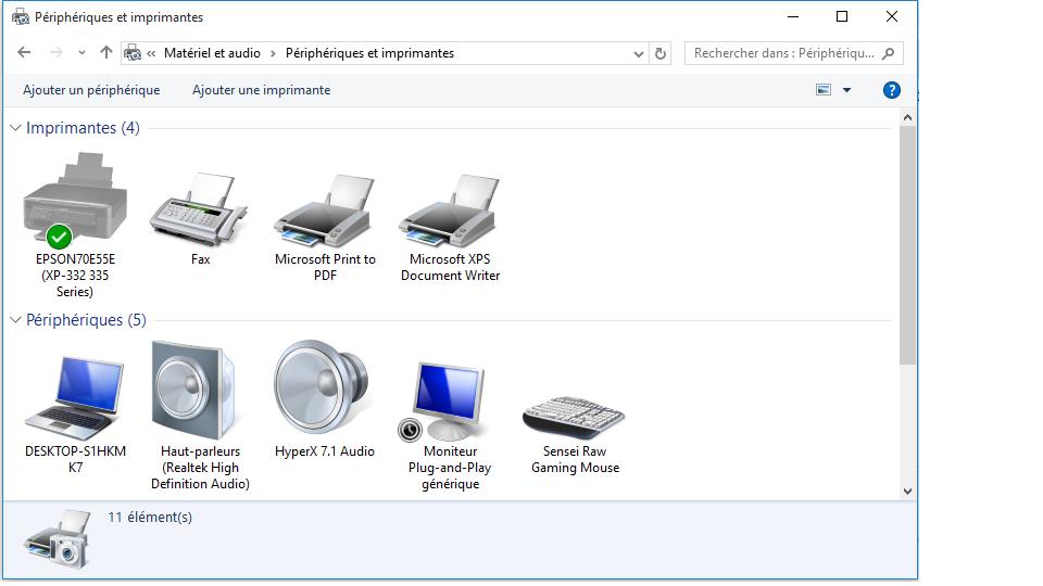 Casque/micro Fonctionne sur Windows 7 et