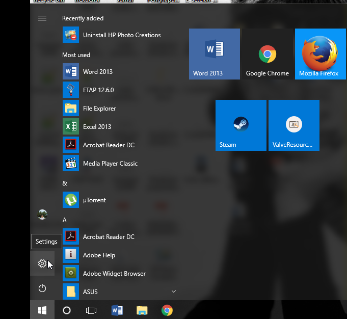 How to restore to default start menu windows 10 - Microsoft
