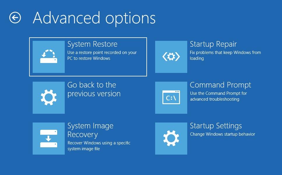 UEFI Firmware Setting missing on Windows 10 - Microsoft