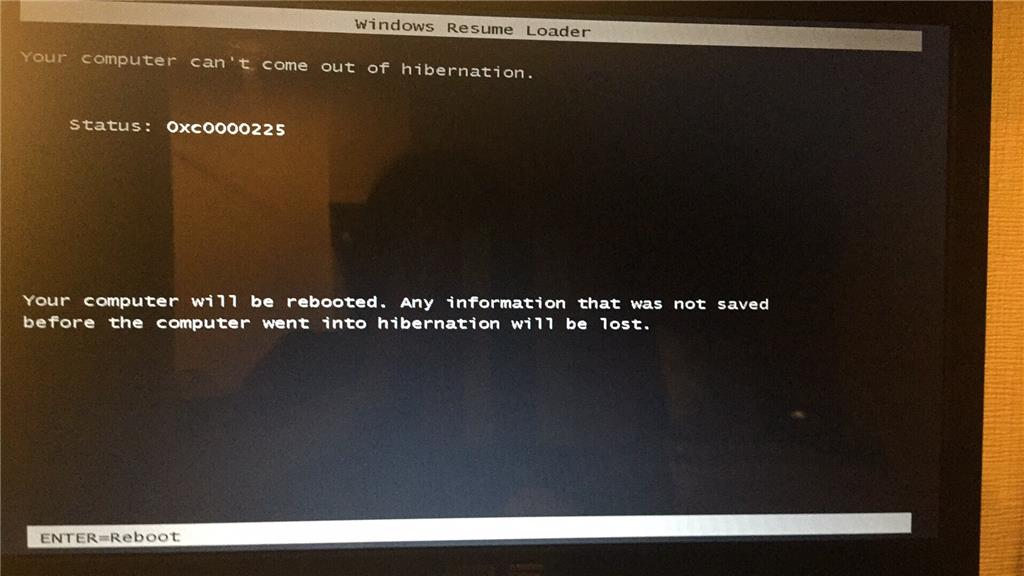 My computer wont start but shows this Windows boot manager